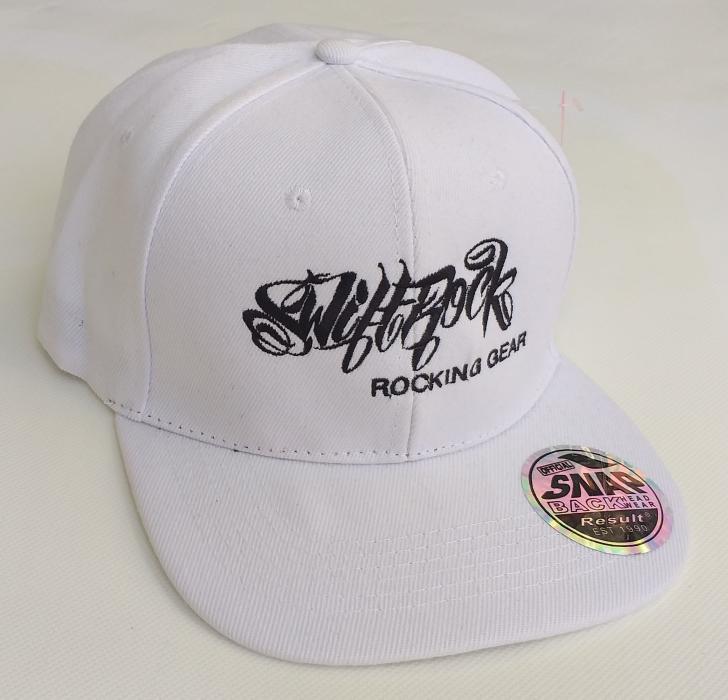 Rocking Gear Snapback Logo Cap Weiß