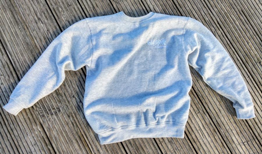 S.R. Rocking Gear Logo Sweater Grau / Grey
