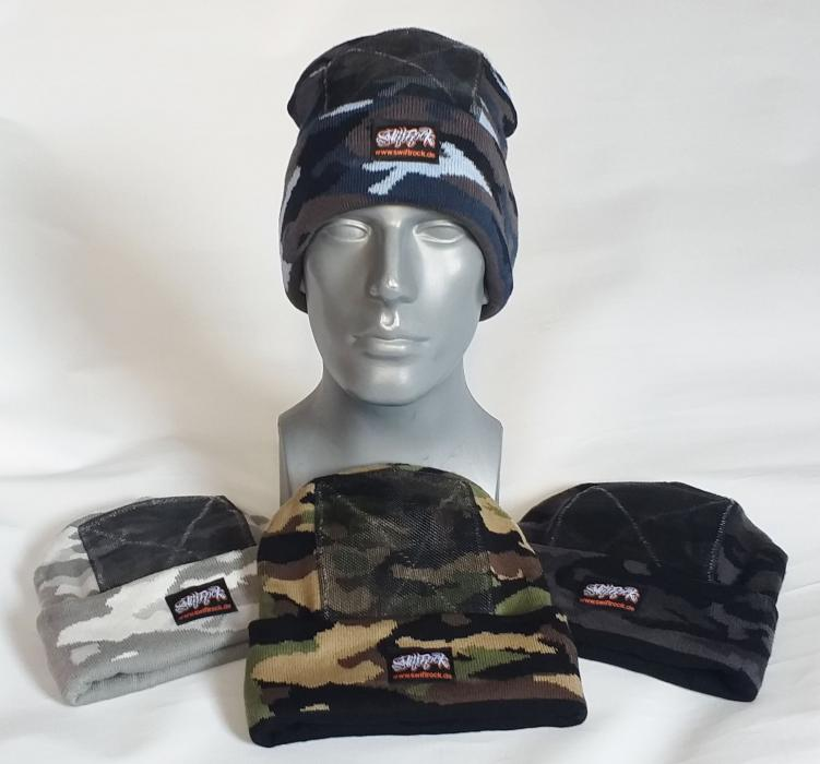 Swift Rock Camouflage Headspin Beanie