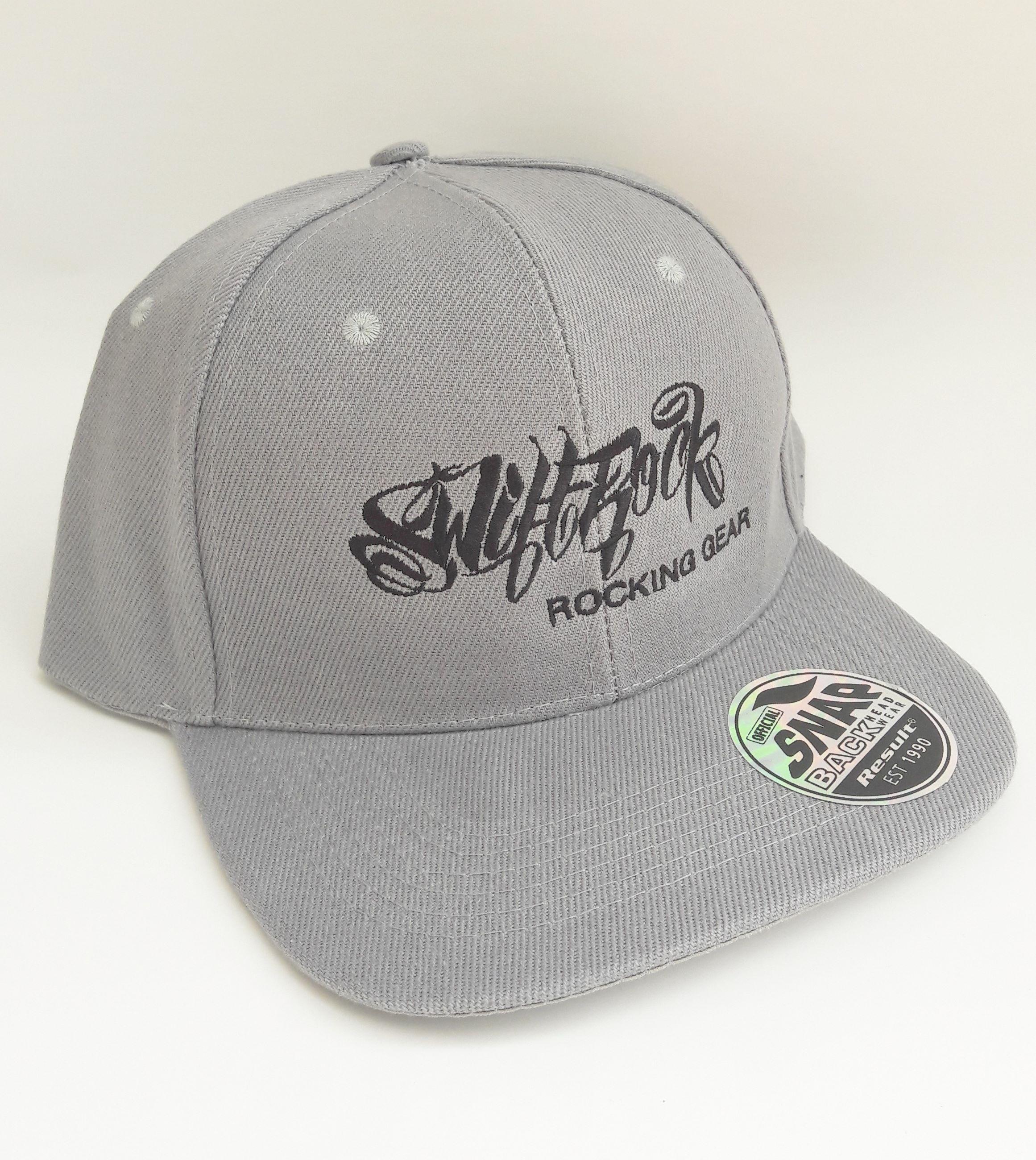 0fc84019669 Swift Rock Shop - Official Store - Rocking Gear Snapback Logo Cap Gray