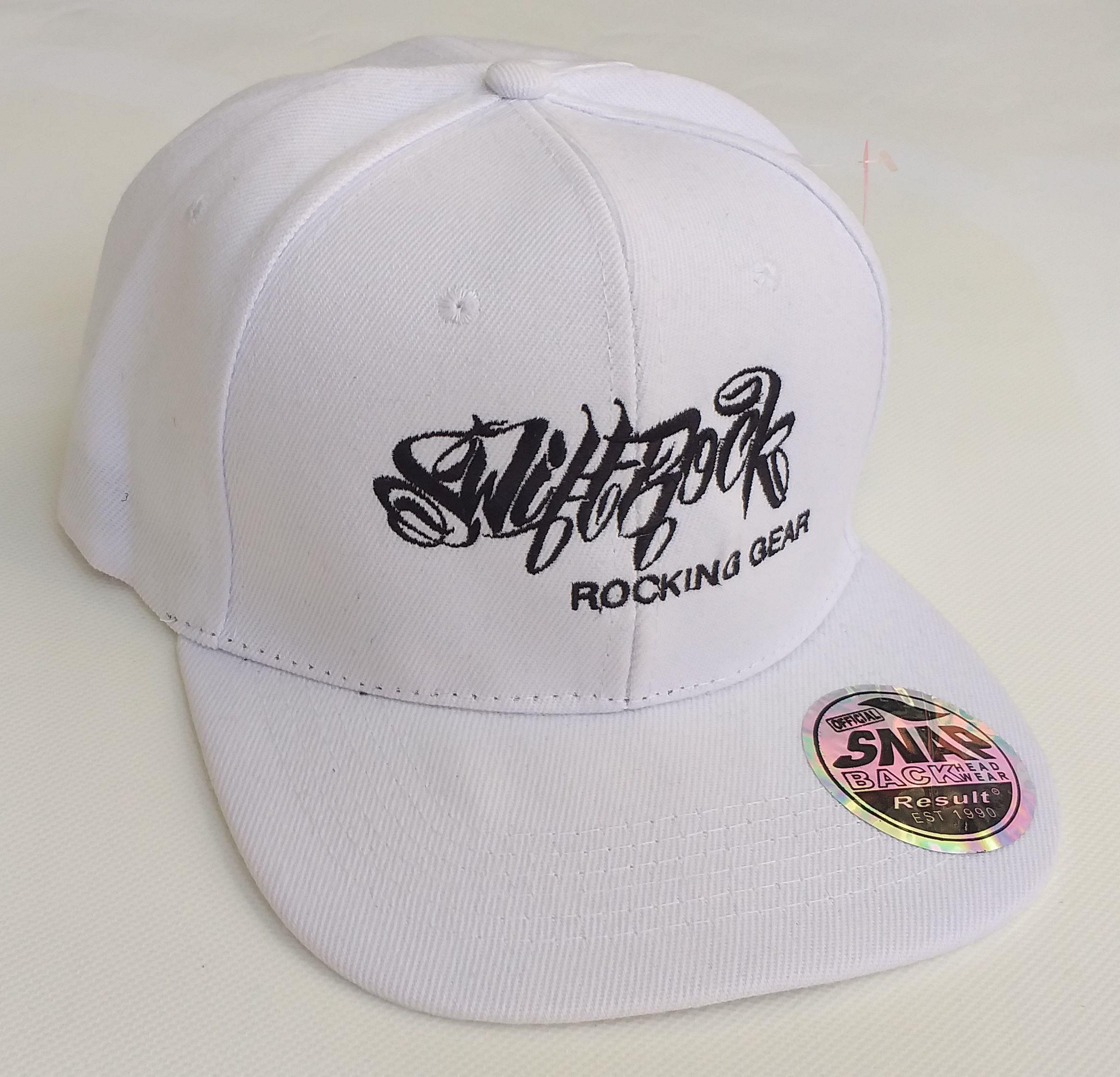 528cf27d7c0 Swift Rock Shop - Official Store - Rocking Gear Snapback Logo Cap White
