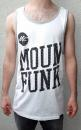 Mounfunk  Mens Tank Top White / Gray