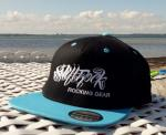 Swift Rock Two Tone Snapback Logo Cap Baby Blue - Black